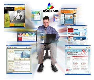 Diseño de paginas web con aColor